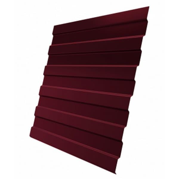 Профнастил С8 RAL 3005 винно-красный 0.5 мм