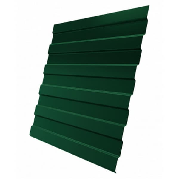 Профнастил С8 RAL 6005 зеленый мох 0.7 мм